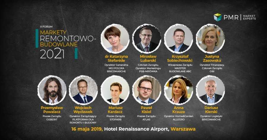 Prelegenci II Forum Markety Remontowo-Budowlane 2021