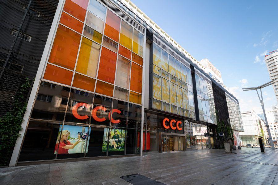 budynek sklepu ccc