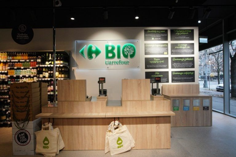 First Carrefour BIO store opens in Poland