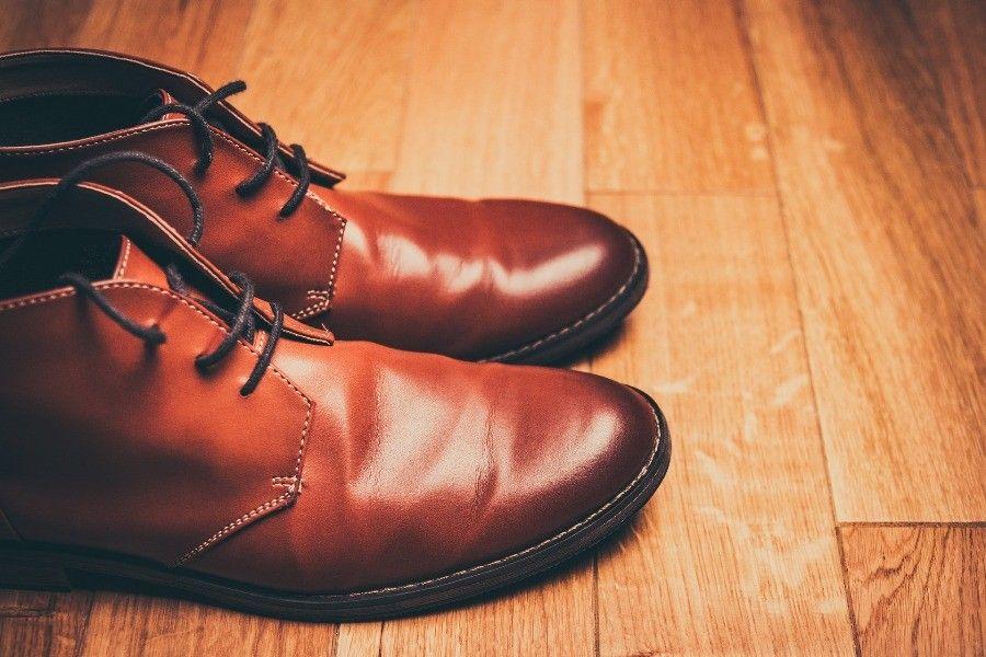 Brazowe buty meskie