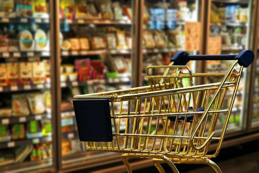 supermarket wozek zakupowy zakupy