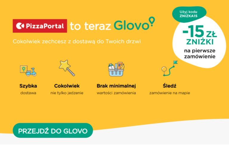 PizzaPortal.pl is Glovo now