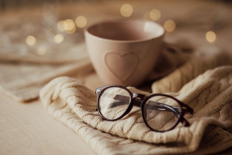 okulary z kubkiem