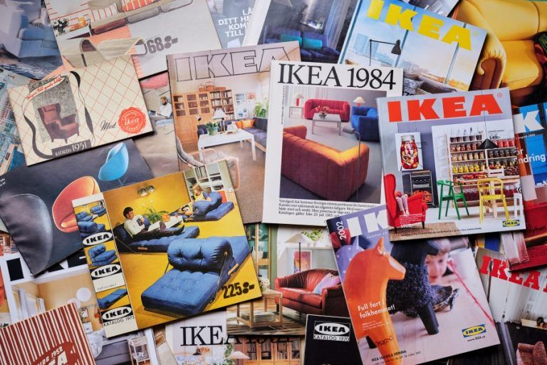 IKEA decided to stop publishing its catalogue