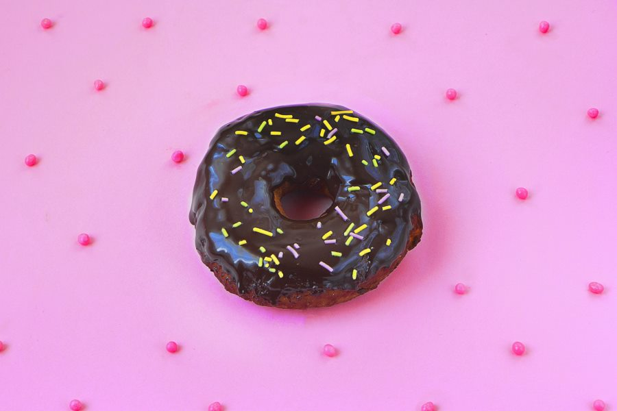 American style donuts