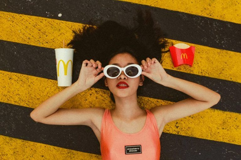 McDonald's response to the sugar tax – sugary drinks served outside of the meal menus