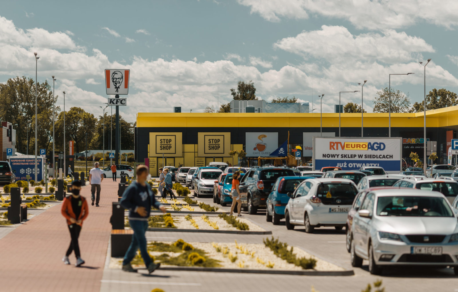 Retail park in Siedlce